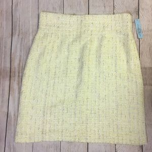NEW Antonio Melani Nubby Tweed Pencil Skirt Sz 12